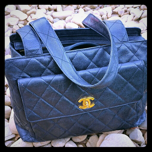 5235c08f7337 CHANEL Bags | Authentic Quilted Handbag Vintage | Poshmark
